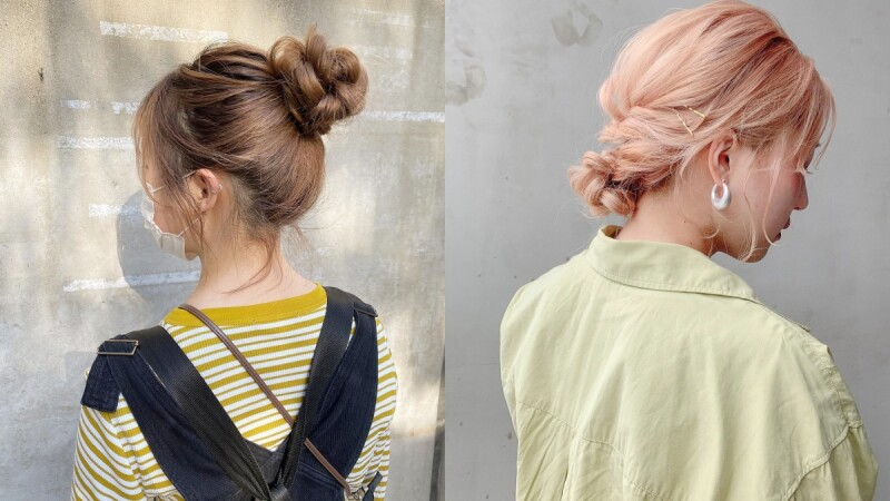 丸子頭怎麼綁?精選簡易日系包頭綁法詳解,俏皮高式到氣質優雅低髮髻都有!