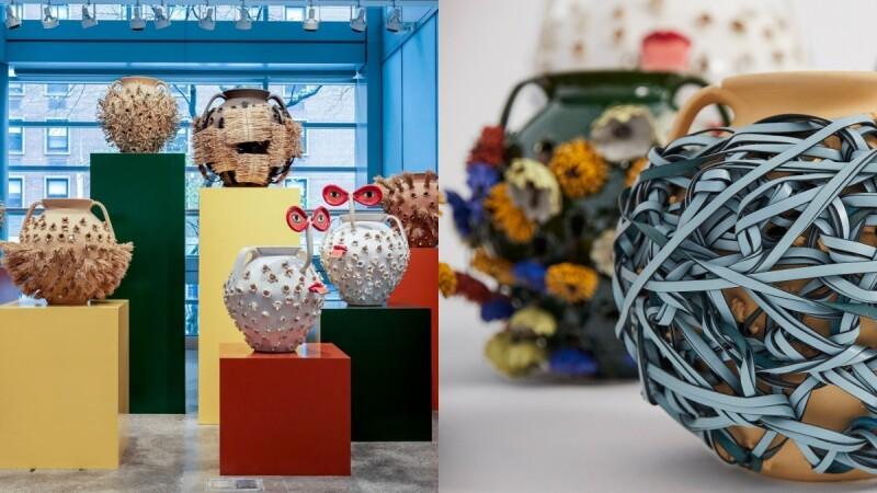 Loewe前進藝術界!攜手蘇富比打造Loewe Weaves陶瓶系列藝品、手工編織氣球包與配件