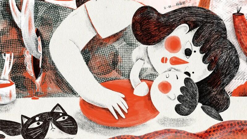 母親節送給媽媽也送給自己的《母親記事》插畫書 一起踏上育兒奇幻旅程