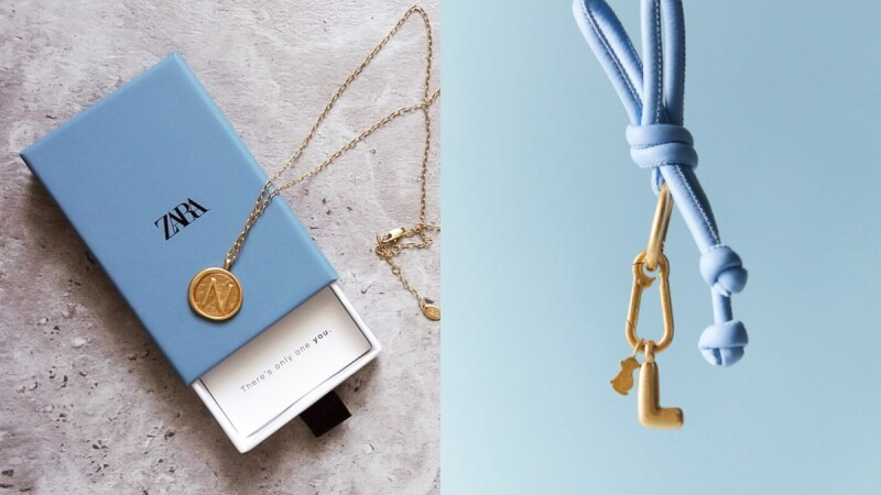 Zara 字母復古圓牌項鍊回歸!親民價格就能入手高質感項鍊、耳環與戒指