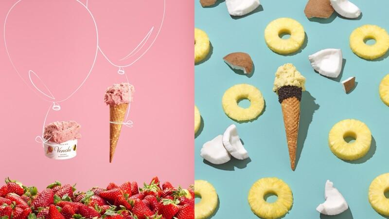 《Venchi》推出4款夏季限定水果系列Gelato義式冰淇淋!「椰香鳳梨」、「輕糖草莓」、「青蘋果樂園」每月登場