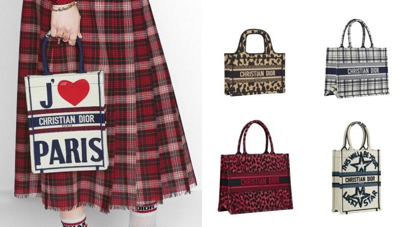 Dior 2021早秋系列率先登台開賣!熱賣款BOOK TOTE托特袋換上豹紋、愛心、格紋圖案還有迷你小包…超過10款售價整理