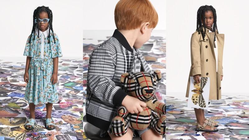 Burberry 2021最新春夏童裝上市!不只經典風衣,還有碎花洋裝、黑白格紋夾克,讓家中寶貝變身英倫潮人