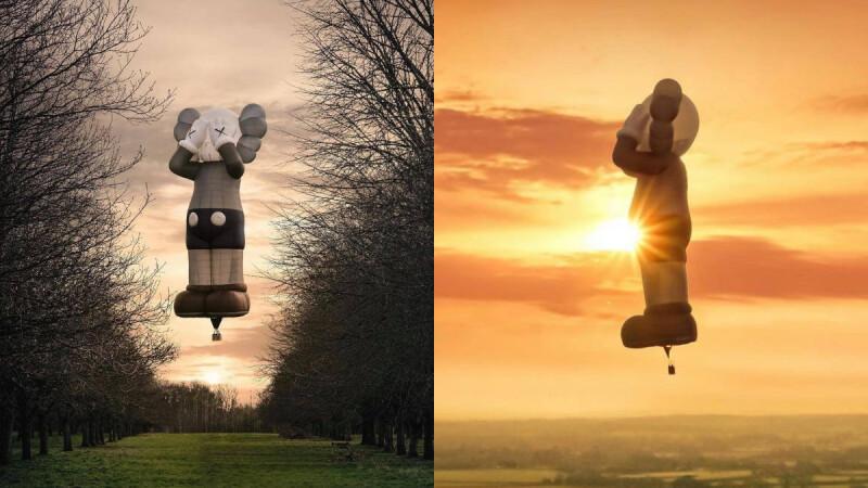 《KAWS:HOLIDAY》世界之旅,經典公仔化身巨大熱氣球迎來希望曙光!