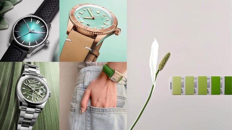 2021W&W手錶|療癒綠色手錶盤點,Rolex棕櫚葉綠、Oris湖水綠、Cartier蘋果綠、百達翡麗Nautilus森林綠...