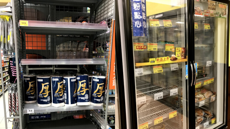 確診足跡進超市賣場!疫情爆發搶購超危險 學者曝真實原因