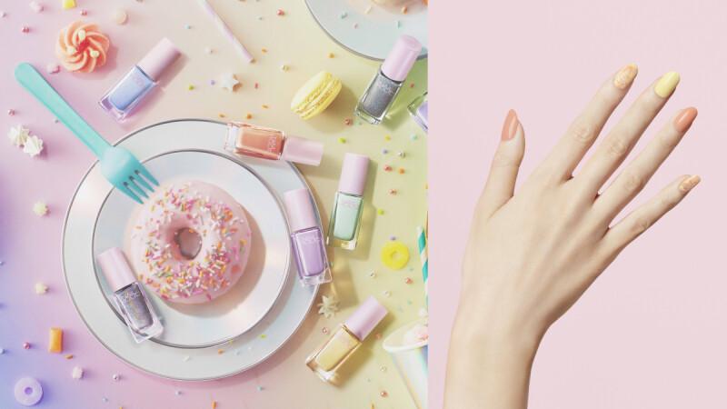 夏天流行的蜜糖Popping Sugar指彩,就交給NAILHOLC!