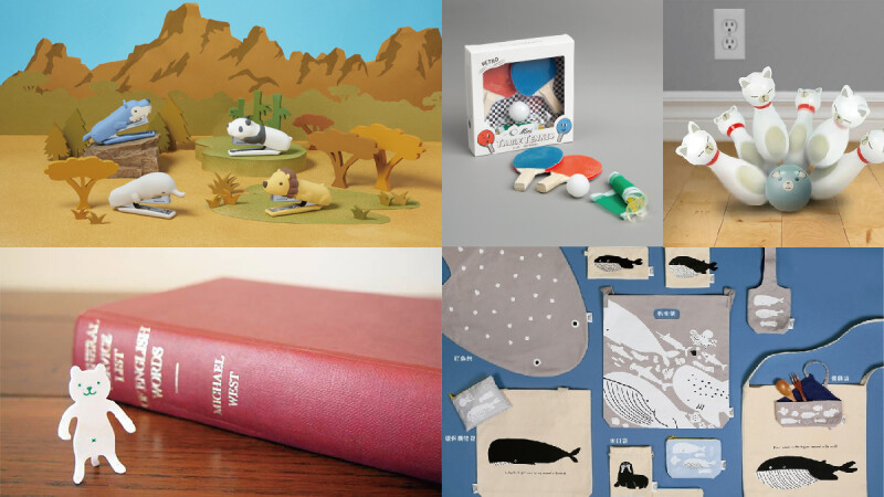 WFH好療癒~誠品推貓咪保齡球、迷你乒乓球桌遊 讓你防疫宅家不無聊!還有軟萌獅子釘書機、小熊造型夾 打造桌上動物園!