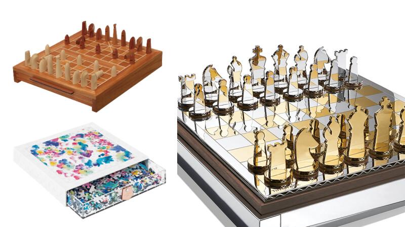 LV老花水墨拼圖太美!愛馬仕象棋、Tiffany西洋棋、Dior光雕拼圖…超過10樣奢華精品桌遊盤點