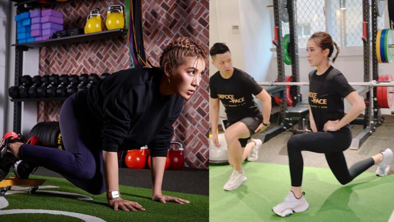 【棒式訓練】核心/肩膀/胸背/腿部肌群練起來|小禎愛健身#8