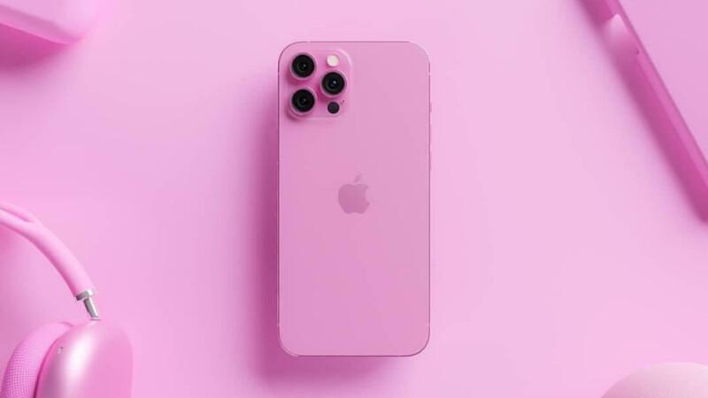 iPhone 13粉紅色渲染圖太美了!夢幻芭比粉配色,你會想入手嗎?