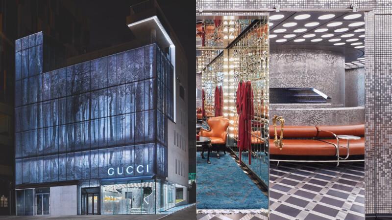 首爾絕美Gucci Gaok旗艦店開幕!奇幻森林光影外牆+高閃Disco舞廳內裝,時尚迷解封後必須朝聖