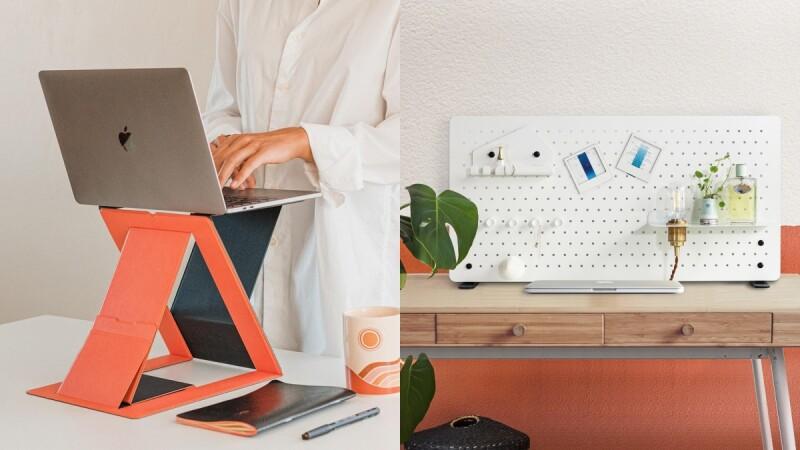 居家上班必備!Pinkoi推薦5大辦公神器:升降筆電架、純白金屬洞洞板…把書桌變專業工作站