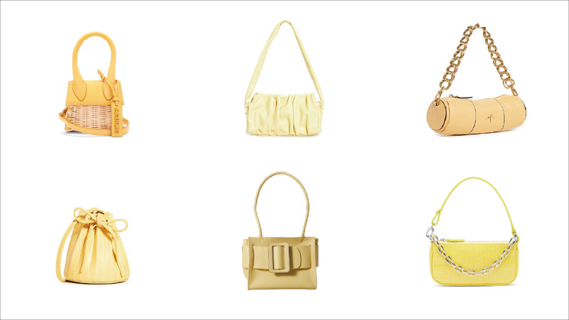 夏天就要來一點可愛的Butter黃!By Far、Manu Atelier…8款歐美購物網小眾品牌奶油黃色包包盤點(附購買連結