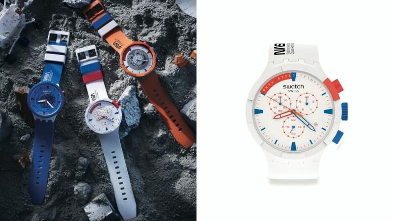 Swatch X NASA太空腕錶系列不搶不行!超大錶徑、太空服橘色、火箭倒數計時全變成設計亮點(附售價)