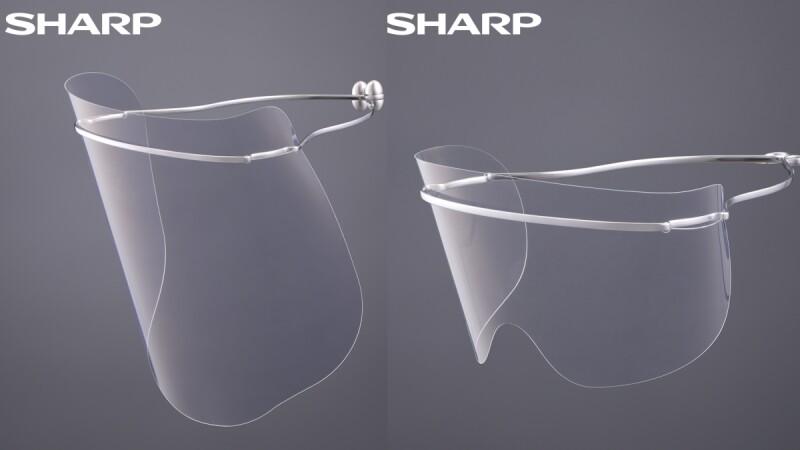 超有型「防疫面罩」來了!夏普4款專利防護面罩開賣,鈦合金流線設計、輕量感受,長時間配戴也OK
