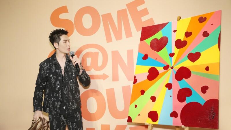 斜槓歌王蕭敬騰藝術家新身分!成為日本藝術家平台Spread Love召集人