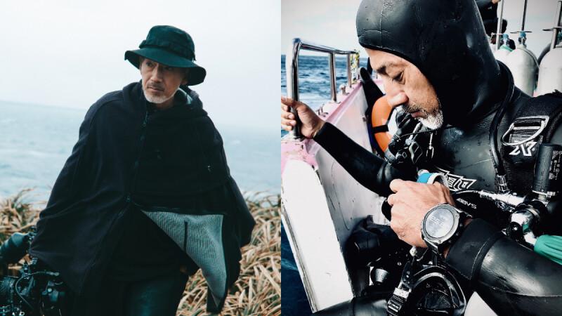 工作結合興趣!水下導演袁緒虎愛「泡在海裡」 享受大海沉潛的驚喜
