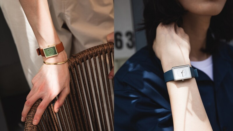 M編一戴秒被圈粉的MAVEN方形腕錶,將復古Art Deco裝飾藝術融入設計, 簡直是造型品味的加分神器!