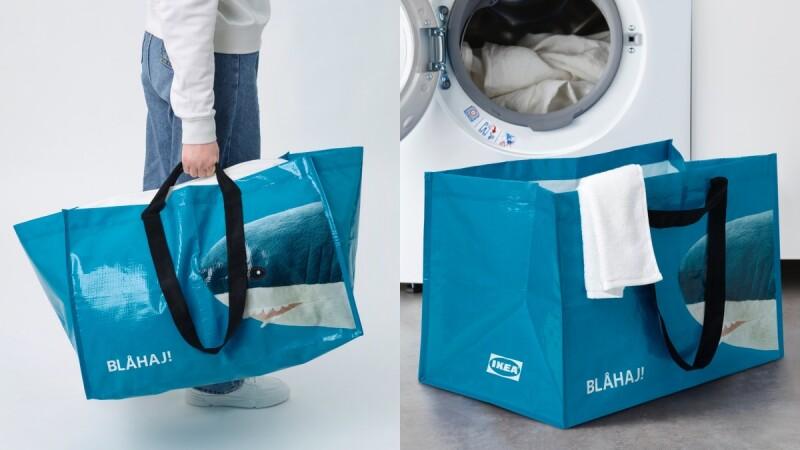 IKEA超人氣鯊魚變購物袋!吸睛「鯊鯊袋」可愛登場,大容量超適合採購、洗衣,價格還很佛心