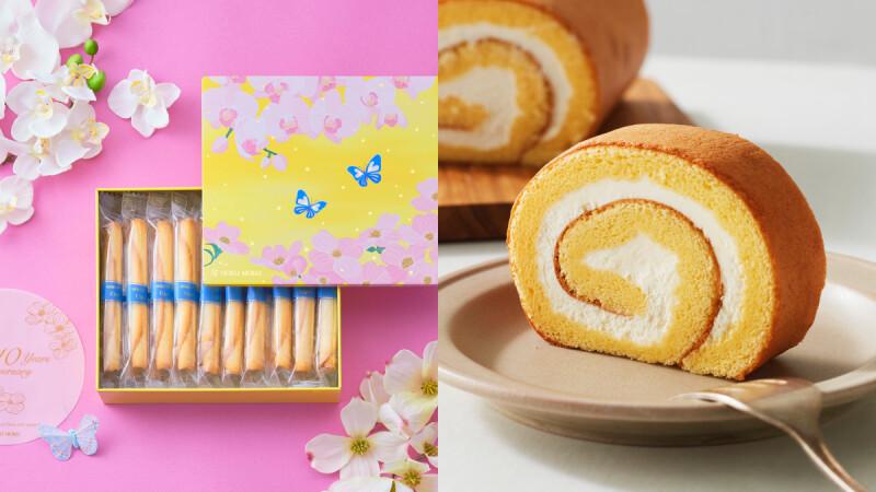 志玲姊姊御用禮盒 Yoku Moku,「10周年台灣限定版」原味雪茄蛋捲禮盒、南青山生乳捲上市