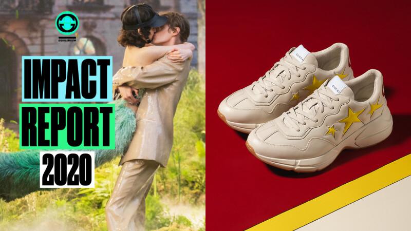 Gucci第一雙環保材質球鞋!首度發表《古馳平衡計畫》,成功減碳、打造性別平等工作環境|時尚大小事