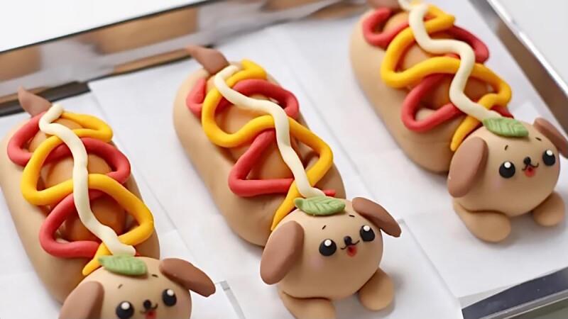 爆炸可愛!小紅書「超萌熱狗堡」麵包食譜&做法大公開,這麼萌怎麼捨得吃