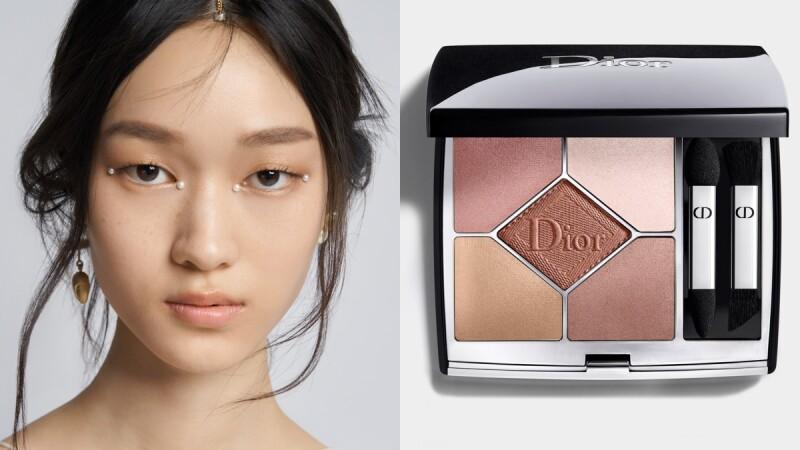 Dior迪奧2022早春度假系列大秀落幕,全場模特兒眼妝只靠這一盤玫瑰奶茶五色眼影,台灣只有「這裡」買得到