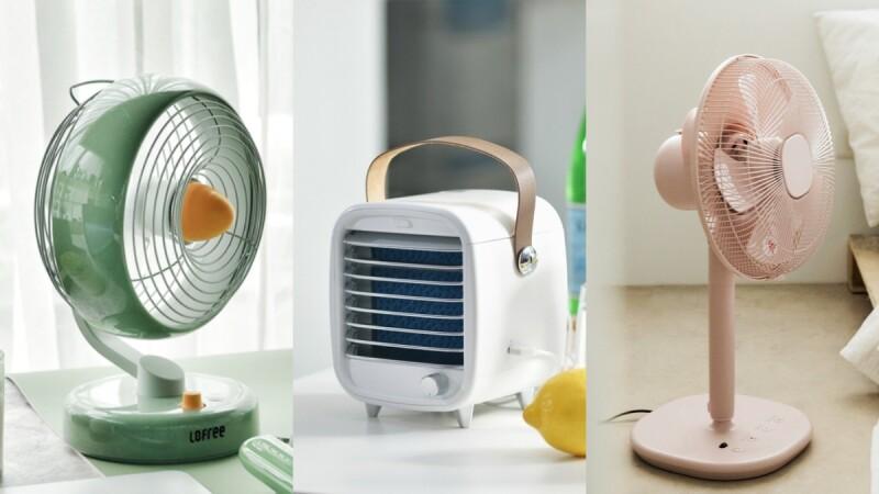 夏天救星!特搜Pinkoi五款「美型電風扇」,好攜帶「行動冷氣」走到哪涼到哪,簡約質感外型更能為視覺降溫