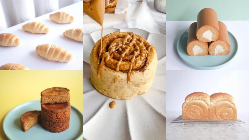 低GI冷凍宅配甜點推薦!小食糖SUGARbISTRO 5款低升糖麵包甜點大公開,必吃肉桂捲、生乳捲、塩之花可頌、生吐司