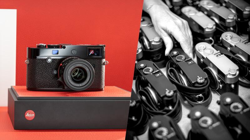 Leica 徕卡 M10-R黑漆版上市,少了小紅標的設計,更顯低調不凡氣質