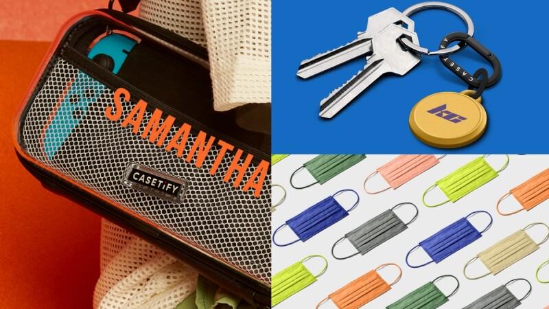 這次不是手機殼!CASETiFY開賣AirTag掛環、Switch保護套,全能客製化秀自我風格,搭配7種繽紛色口罩超搶眼