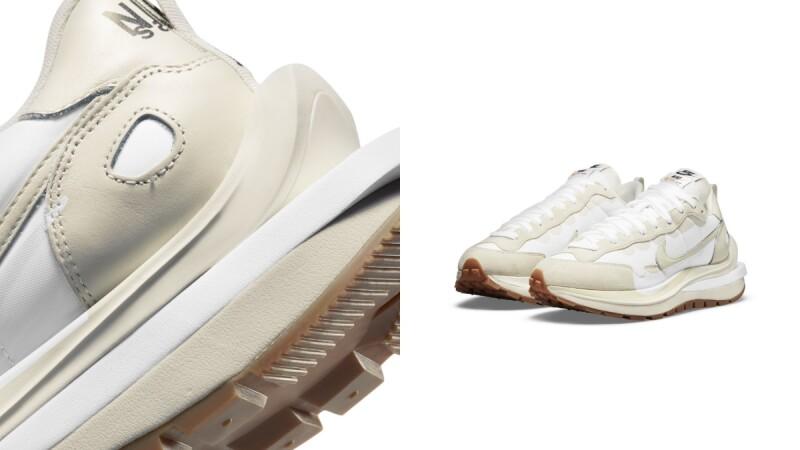 第三波Nike X Sacai VaporWaffle聯名系列終於有消息!質感麂皮、氣質奶油白...最快這月開賣
