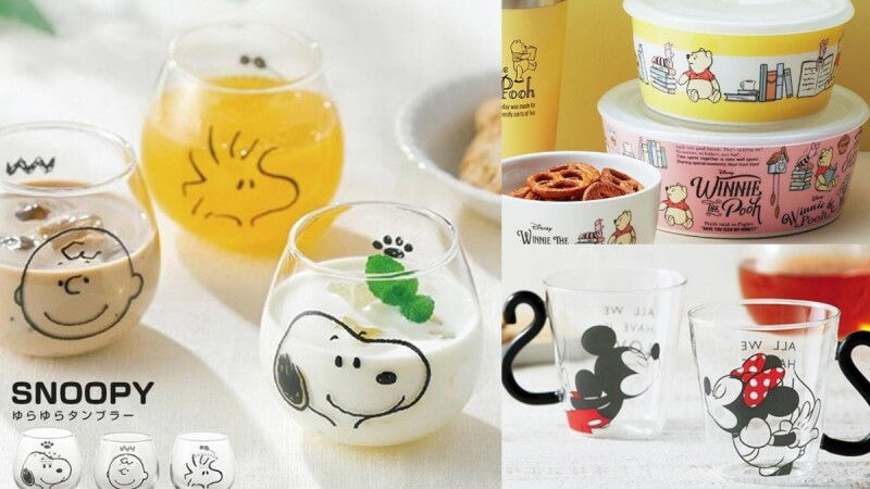 6大「療癒系餐具」為吃飯時光加溫!SNOOPY大臉玻璃杯、小熊維尼微波碗提振食慾,連醬料碟也藏可愛彩蛋