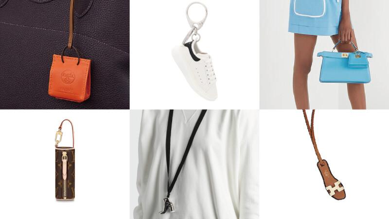 精品的微型世界!Alexander McQueen白鞋、LV包包、Fendi Peekaboo…精品熱門單品迷你吊飾盤點