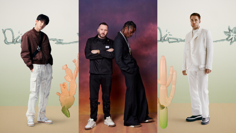 Dior 2022夏季男裝系列六大看點:時裝聯名王Kim Jones與爆款製造者Travis Scott攜手合作 南柱赫、羅伯派汀森、村上隆…等名人同步觀秀