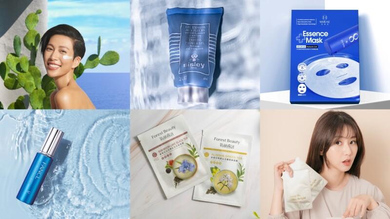 2021夏天面膜15品牌推薦!吸油深清、油肌美白、酸後使用通通有,在家敷臉也很療癒