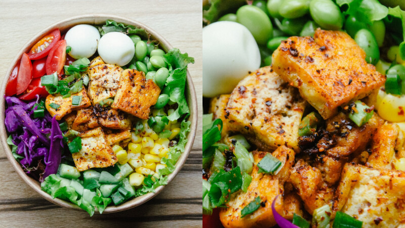 很有媽媽味的家常料理!香噴噴的紅燒香菇燉豆腐,低脂高蛋白食譜,3步驟快手完成!