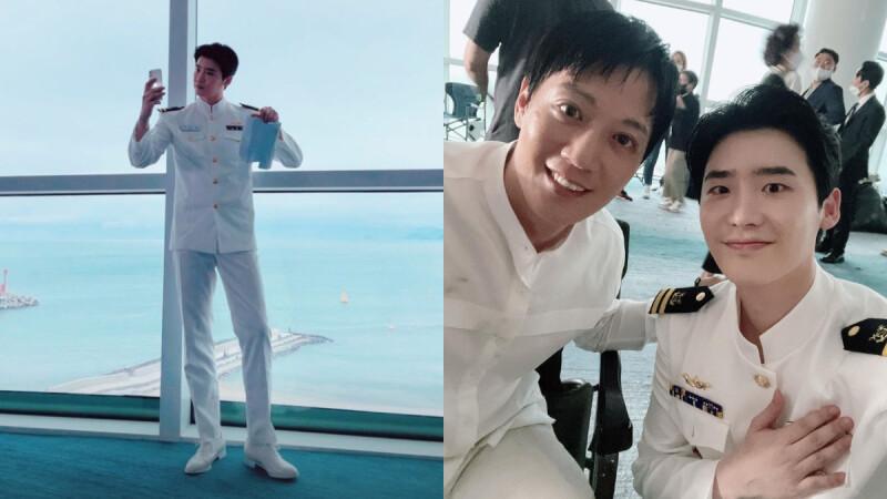 李鍾碩 電影《分貝》海軍造型公開!白馬王子風範、巴掌臉+大長腿,退伍回歸新作粉絲好期待!