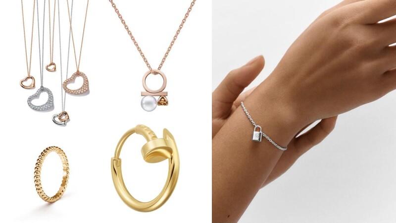 送禮自用都OK!超過十件三萬以下精品級珠寶推薦:LV手鍊、VCA戒指、Tiffany項鍊、Cartier與Dior耳環