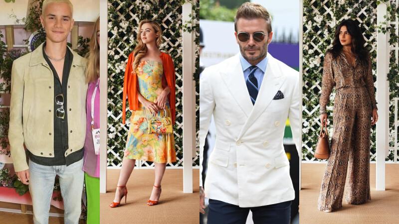 Romeo Beckham 成為 David Beckham 「貝克漢經典造型」接班人?盤點 2021 溫布頓網球公開賽名人穿搭