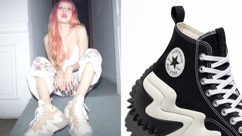 Converse Run Star Hike進化版來了!全新Create Next CX系列4大鞋款全公開,看泫雅和男友Dawn穿搭示範