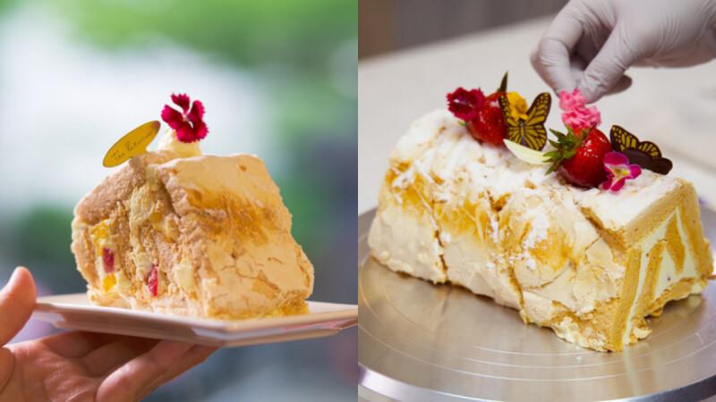 新加坡精品蛋糕店《The Patissier》首度公開「百香果蛋白霜蛋糕」製作!掌握4大美味做法,在家就能享受夢幻招牌法式甜點