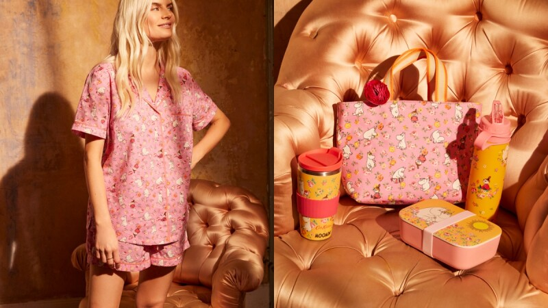 最萌趣的Cath Kidston X Moomin聯名系列來襲!居家睡衣、筆電包、托特袋還有童裝超齊全...必買商品TOP5推薦(附售價)