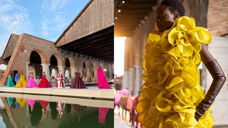 重磅邀請17藝術家參與!Valentino 2021秋冬高訂大秀在浪漫水都威尼斯打造無比精彩的時尚饗宴