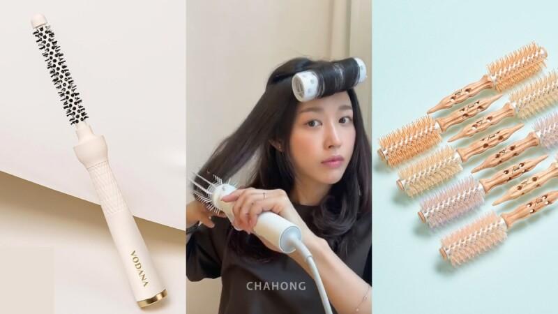 三合一電捲棒、髮根導熱梳⋯懶人、急性子必知韓國縮時系美髮工具推薦!