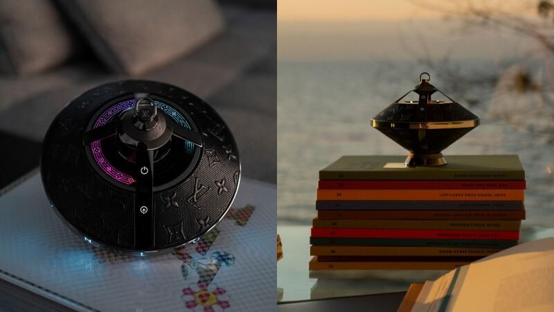 LV全新推出飛碟造型Horizon Light Up音響!Monogram老花圖案、7種漸變燈光、具備藍芽連接和Apple AirPlay…5大亮點、售價一次看