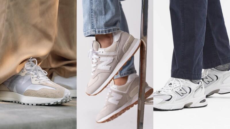 New Balance 2021上半年熱賣球鞋TOP5!NB327這兩色進榜、韓系老爹鞋拿下第三名,冠軍鞋款開賣當日就賣出7成