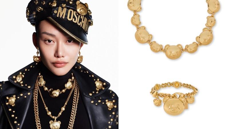 Moschino把泰迪熊化為耳環、項鍊、手鍊、戒指還有髮夾,全新BIJOUX BIJOUX BIJOUX首飾系列必買TOP6推薦(附售價)