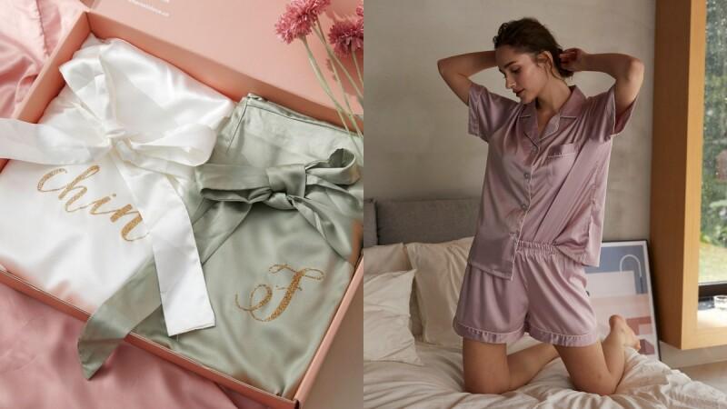 穿過就回不去!高質感居家服品牌Here's To Love打造歐美風睡衣、浴袍系列,提供客製化服務、享有9折優惠